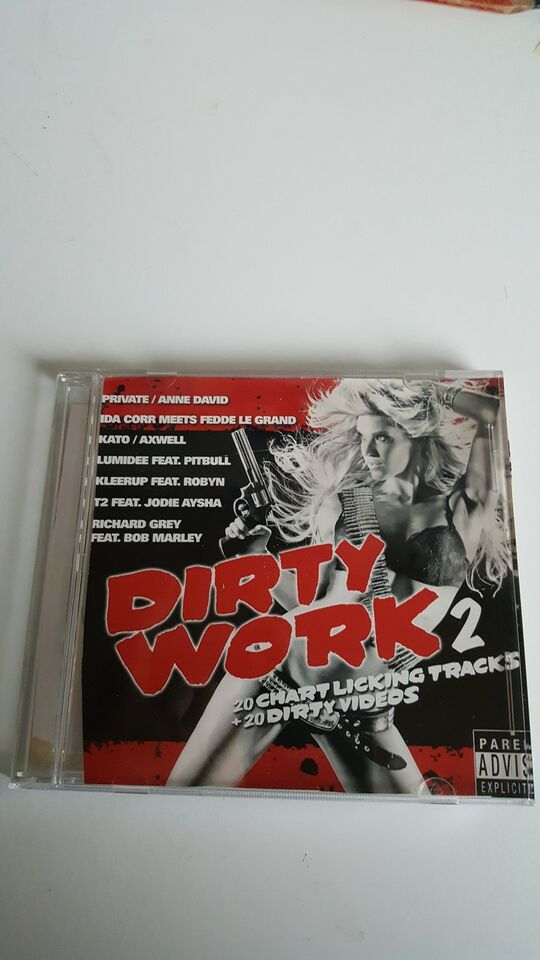 various/diverse: CD : Dirty work 2, electronic