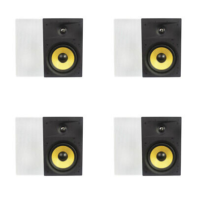 """6.5/"""" Ceiling In wall Speakers.six half inch Lot.6-1//2/"""" flush mount.8ohm 16 NEW"""
