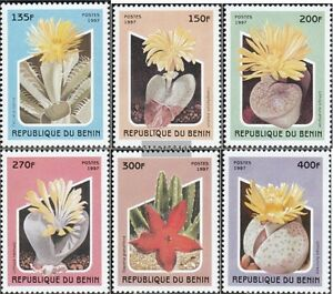 Benin 964-969 Mint Never Hinged Mnh 1997 Sukkulenten Delaying Senility Stamps