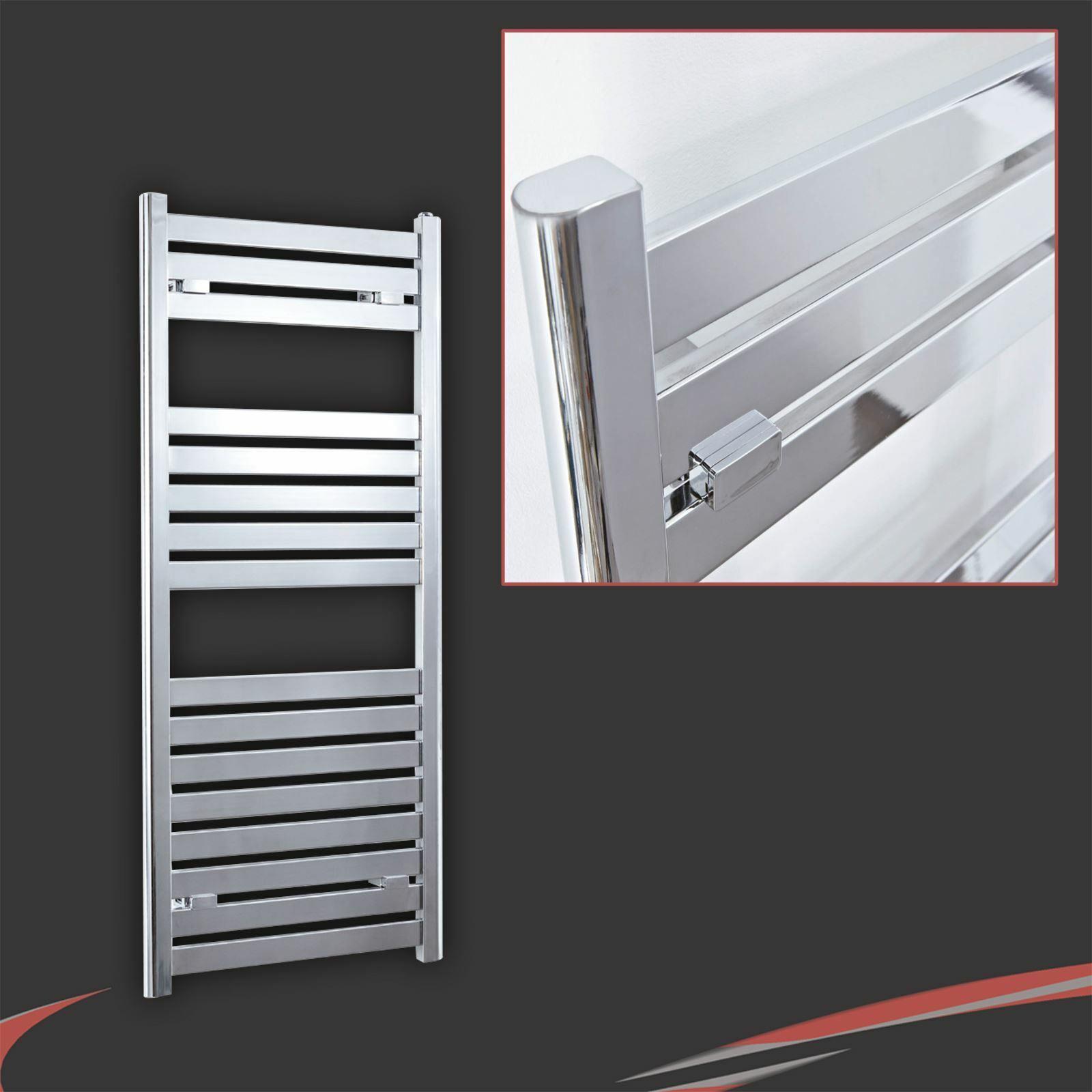 500 mm (W) x 1200 mm (H)  Espace  Chrome Designer sèche-serviettes 2604 BTU