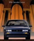 1996 Chevy Chevrolet Corsica 14-page Original Car Sales Brochure Catalog