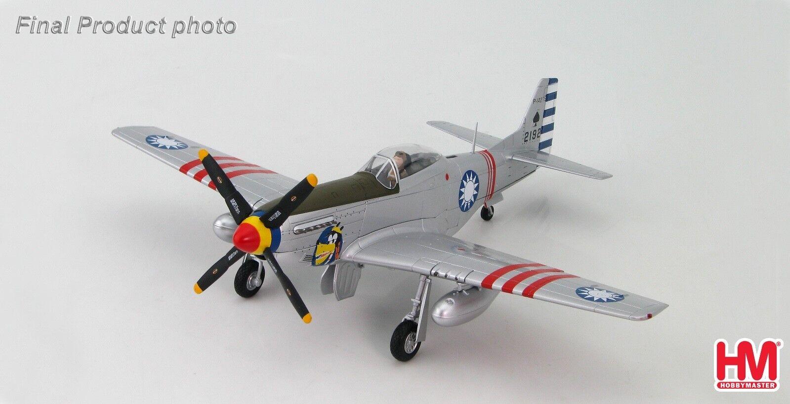 Hobby Master HA7731 1 48 P-51D Mustang P-14275,  21st Sqn., 4th FG, ROCAF c. 1949  Dans votre attente