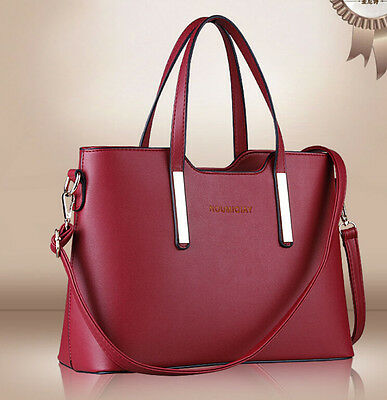 Hot sale fashion womens PU leather shoulderbags message tote message hand bags