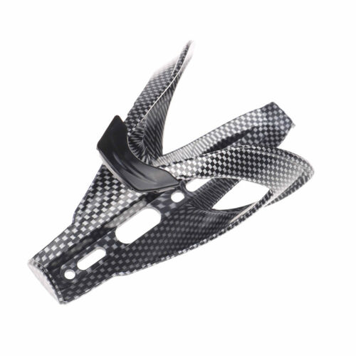 1X Carbon Fiber Road Bicycle Bike Cycling Water Bottle Drinks Holder Rack CageJ7