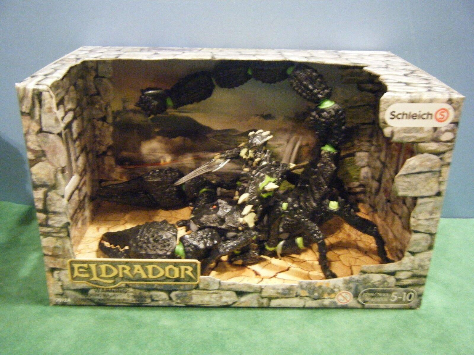 SCHLEICH ELDRADOR ELDRADOR ELDRADOR SCORPION  70124  NEW 16abeb