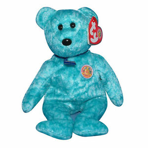 TY Beanie Baby 8.5 inch BBOM January 2003 SPARKLES the Bear - MWMTs