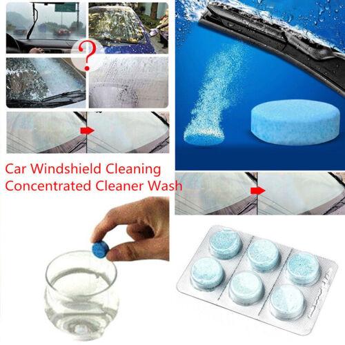 6* Auto Windschutzscheibe Reiniger Scheibenreiniger Glasreiniger Brausetabletten