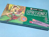 Cray-pas Expressionist Oil Pastels - 16 Piece