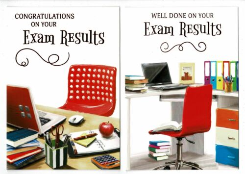 Well Done On Your Exam Results Card Choose From Two Designs