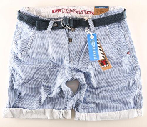 Timezone Herren Shorts Chino Russell TZ 3916  plus Gürtel Größen wählbar Neuware
