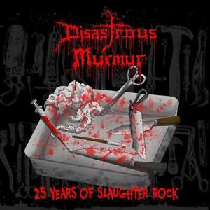 DISASTROUS-MURMUR-25-YEARS-OF-SLAUGHTER-ROCK-LP-VINYL-LP-NEU
