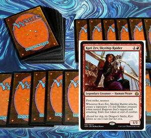 mtg-MODERN-RED-MENACE-DECK-Magic-the-Gathering-rare-60-card-kari-zev-sin-prodder