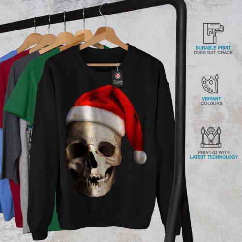 Santa Hat Funny Christmas Men Sweatshirt NEWWellcoda