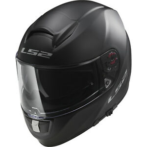 c66bbce2 Details about LS2 FF397.10 Vector Solid Matt Black Motorcycle Motorbike  Full Face Helmet Crash