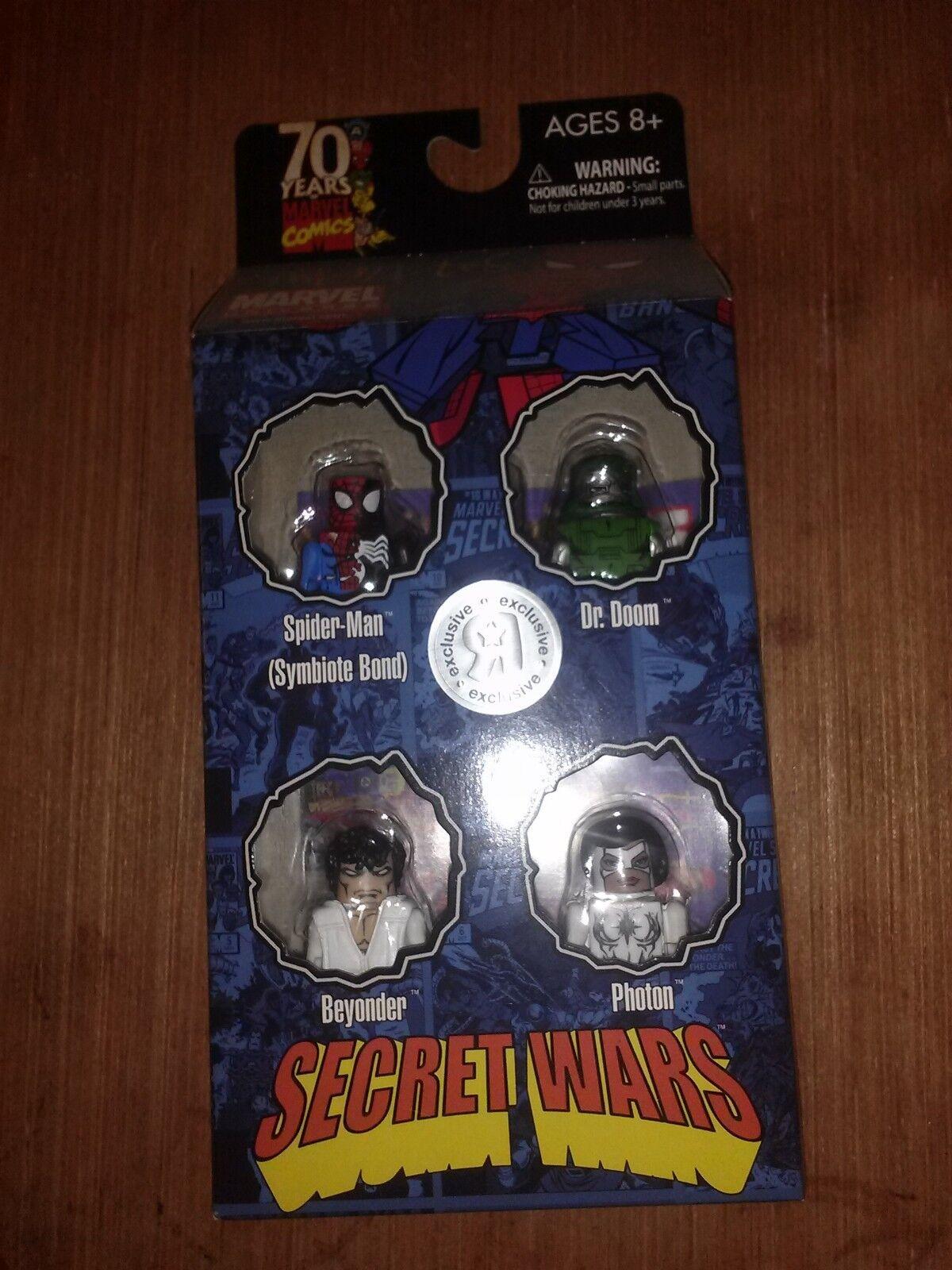 Marvel minimates RARE secret wars box set TRU exclusive exclusive exclusive 4ccb06