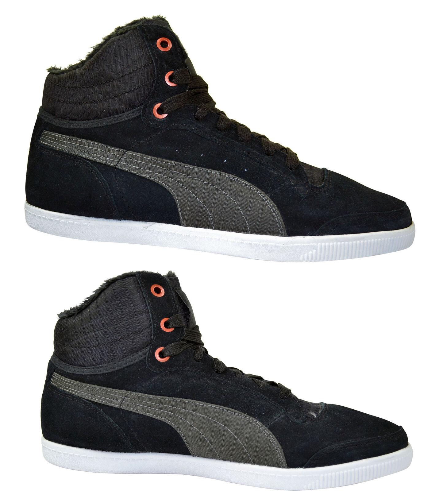 Puma Glyde Court Fur Wn´s black Mid Winter Schuhe schwarz Größenauswahl!