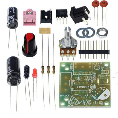 1Set Mini Amplificador LM386 Super Board 3V-12V KIT de Hágalo usted mismo M57H KJ
