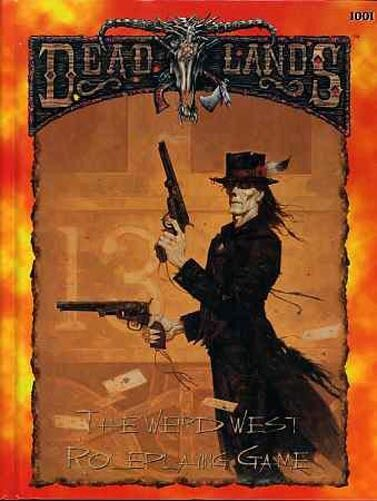 DEAD LANDS DEADLANDS THE WEIRD WEST ROLEPLAYING VF  1001 Pinnacle PEG