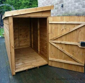16mm-Tanalised-Timber-wooden-Tool-Tidy-Bike-store-Shed-box-garden-Height-4-039-4-039-6