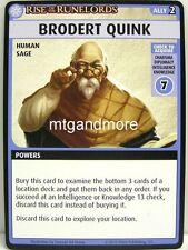 Pathfinder Adventure Card Game - 1x Brodert Quink - The Skinsaw Murders