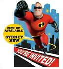 Incredibles 2 Invitations X 8 Birthday Invites Party Supplies