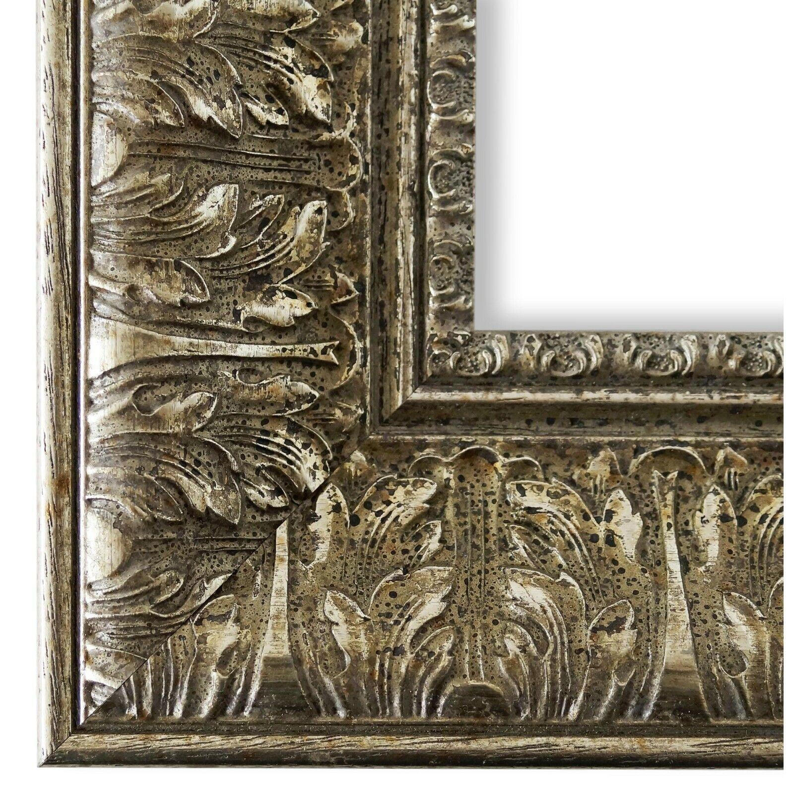 Bilderrahmen Ancona Silber - 9x13 10x10 10x15 13x18 15x20 18x24 20x20 20x30