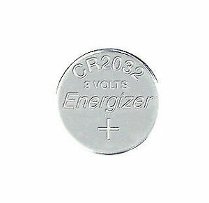 Energizer CR2032 Lithium 3V Coin Cell Battery