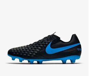 precios de liquidación calidad asombrosa procesos de tintura meticulosos Nike Tiempo Legend 8 Club FG / MG - 2019 | AT6107-004 Black Soccer ...
