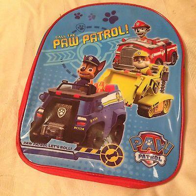 Affidabile Kids Paw Patrol Zaino Blu E Rosso Con Spalline Regolabili-mostra Il Titolo Originale