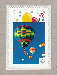 HOT-AIR-BALLOON-Picture-Postage-stamp-MNH-Canada-2016-p16-02sn8