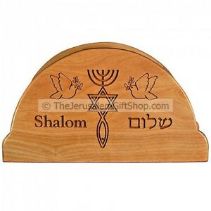 Olive-Wood-Napkin-Holder-with-039-Grafted-In-039-Messianic-Engraving-Made-in-Israel