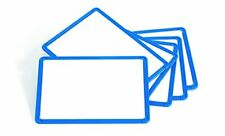 Learning Advantage 7859 Framed Metal Whiteboards Set Of 6 Blue Plastic Fr