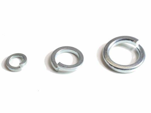 M10 DIN7980 Federringe für Zylinderschrauben verzinkte Federstahl Stahl 20-500ST