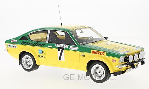 economico Opel Kadett Kadett Kadett C Gt E   7 Rtuttiy Dm Rtuttiy Hessen Smolej 1976 BOS modello 1 18 BOS330  connotazione di lusso low-key
