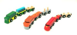 9-Pieces-Multicoloured-Wooden-Magnetic-Railway-Train-Carriage-Tank-Engine-Toys