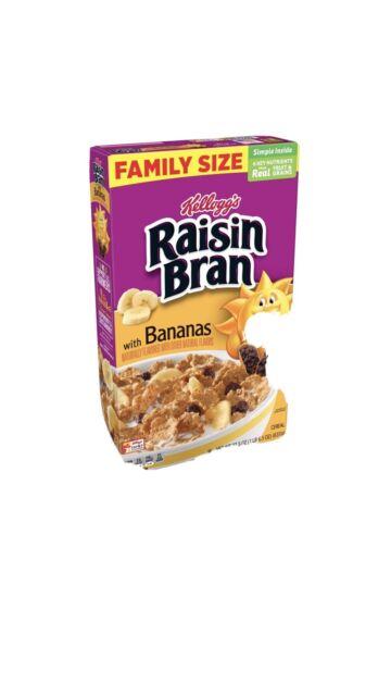 76.5 oz. FREE SHIPPING Kellogg/'s Raisin Bran Cereal