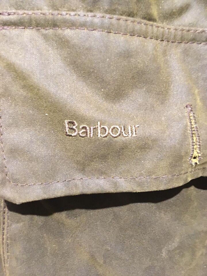 Oilskinsjakke, str. XL, Barbour - Beauchamp