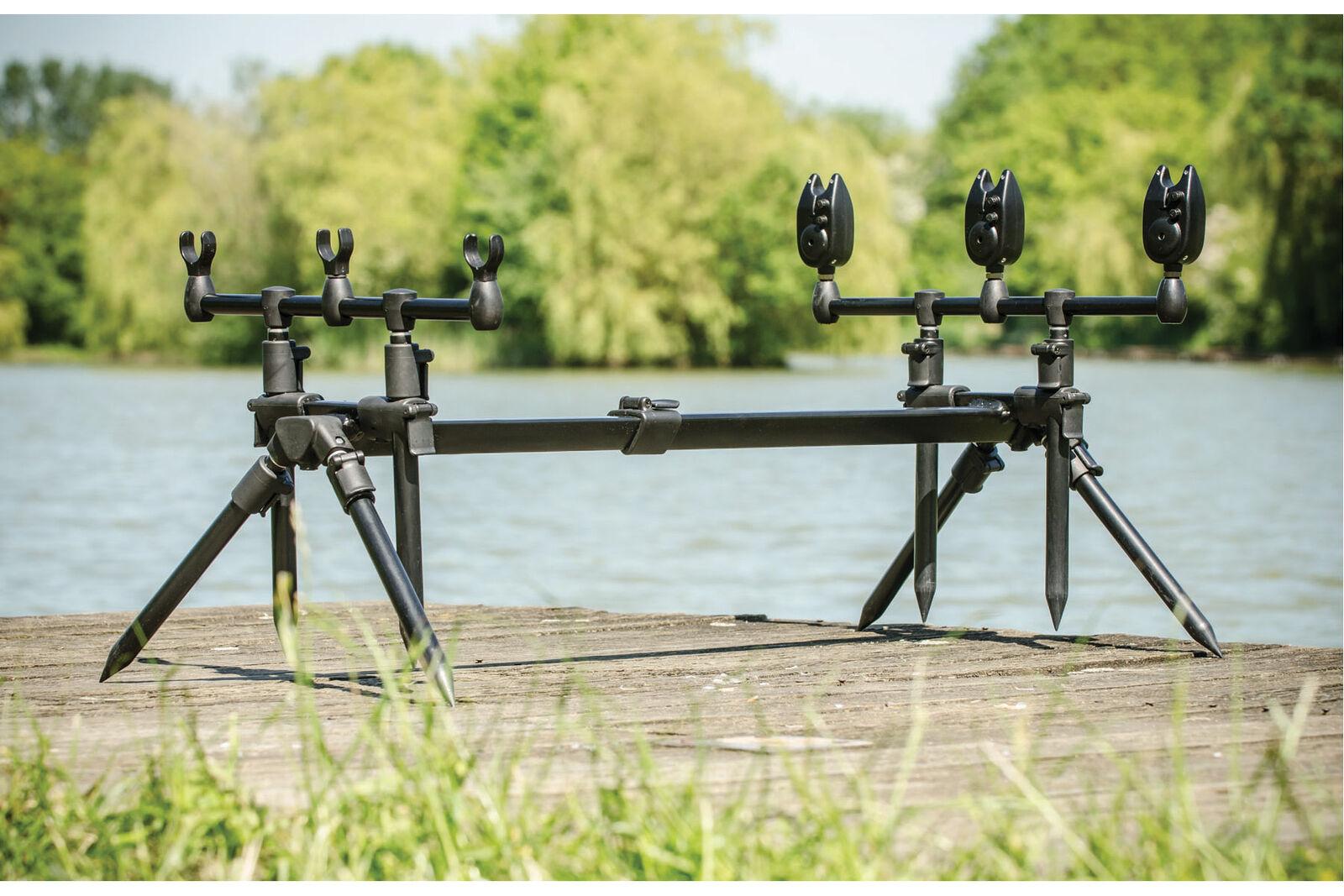 Leeda - Rogue 3 in 1 Rod Pod + Carrycase Carp Fishing Rod Rest