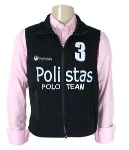 RRP £99.99 Team Polistas Unisex  Fleece Gillet NOW £19.99
