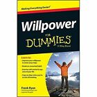 Willpower for Dummies by Frank Ryan (Paperback, 2014)