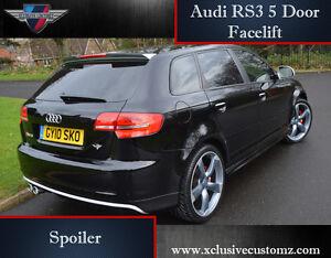 Audi A3 to RS3 5 Door Rear Spoiler Audi A3 8P Tuning 2010 ...