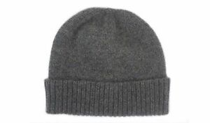 29bfd18ef64bf Image is loading Mens-Ladies-Derby-Grey-100-Cashmere-Beanie-Hat-
