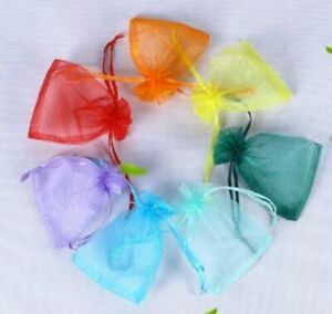 10pcs-Mixed-color-Organza-Gift-Bag-Candy-Jewellery-Pouch-Wedding-Birthday-7x9cm