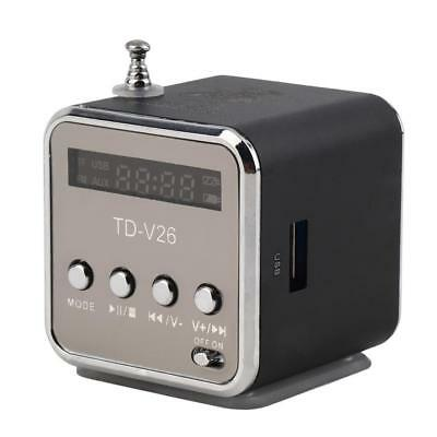 Mini Micro USB Stereo Portable Speaker Music Player FM Radio PC MP3 /4 Notebook