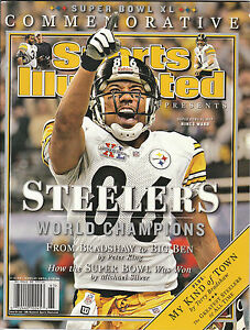 New 2005 PITTSBURGH STEELERS SUPER BOWL XL 40 SPORTS ILLUSTRATED ... 34cb5bcf80
