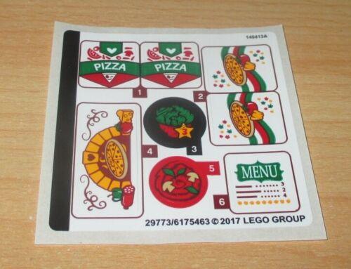 1 Aufkleben-Sticker Bogen für 41311 Lego Friends