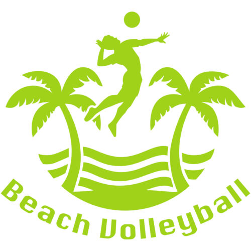 "Beach Volleyball 8/"" Vinyl Decal Car Window Sticker AVP Outdoor FIVB Olympic v2"