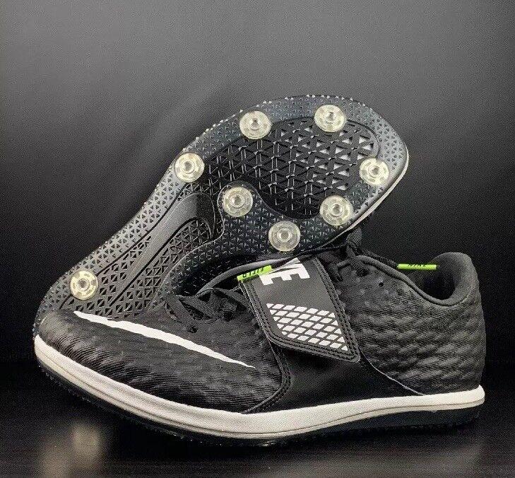 Nike HJ Elite High Jump Track & Field shoes Black 806561-017 Men's Size 10.5