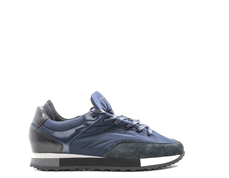 shoes Frau Man Sneakers Trendy bluee Suede, Fabric 23b2-blgr