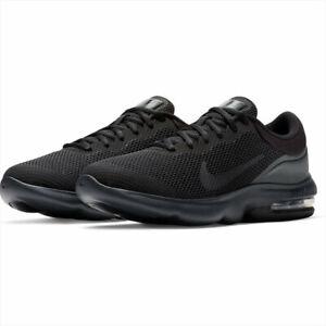 Nike-Air-Max-Advantage-Running-Shoes-Triple-Black-908981-002-Men-039-s-NEW